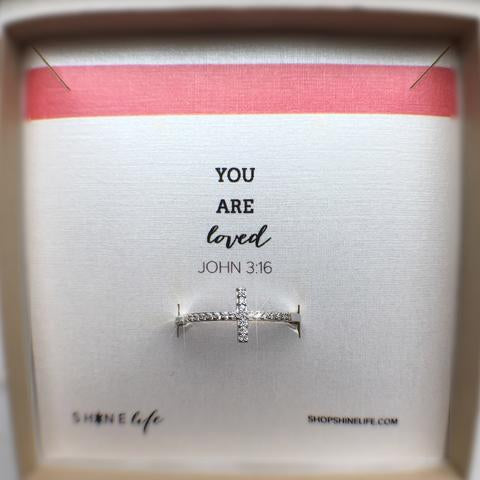 You Are Loved Ring