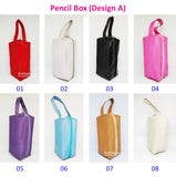 DIY Pencil Box / Cosmetic Pouch / Customised Name / Pencil Case / Multi Functional Phone Pouch