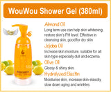 WouWou Sweet Almond Shower Gel / Wowo Shower Gel + Body Lotion Bundle Set
