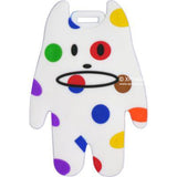 Craftholic White Dots Luggage Tag / Teachers Day / Children Day Gift Ideas / Birthday Goodie Bag / Party Favors / Kids Present / Christmas