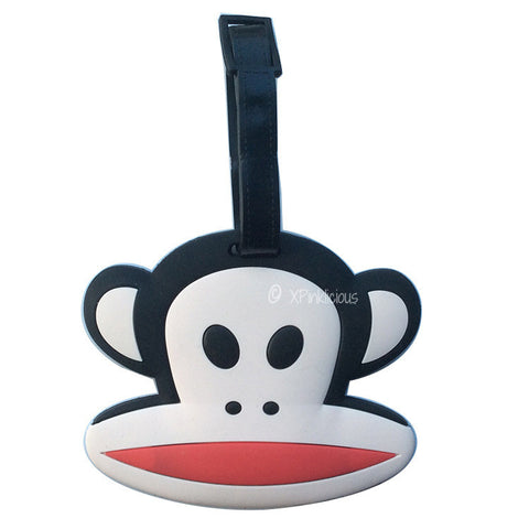 Paul Frank Luggage Tag / Travel Essentials / Children Day Gift Ideas / Birthday Goodie Bag / Party Favors / Kids Present / Christmas