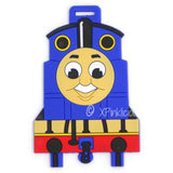 Thomas The Train Luggage Tag / Travel Essentials / Children Day Gift Ideas / Birthday Goodie Bag / Party Favors / Kids Present / Christmas