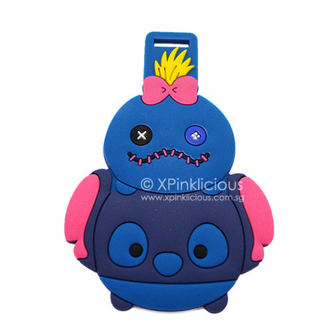 Stitch Tsum Tsum Luggage Tag / Travel Essentials / Children Day Gift Ideas / Birthday Goodie Bag / Party Favors / Kids Present / Christmas