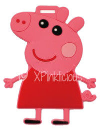 Peppa Pig Luggage Tag / Travel Essentials / Children Day Gift Ideas / Birthday Goodie Bag / Party Favors / Kids Present / Christmas