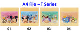 A4 File - Tsum Tsum Series / Children Day Gift Ideas / Birthday Goodie Bag / Party Favors / Kids Present / Christmas