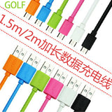 Golf 200cm USB Cable for SAMSUNG, OPPO, HTC AND ETC