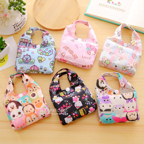 ddf76af8c3 C03-Rose Pink Hello Kitty Foldable Recycle Bag – XPinklicious
