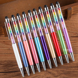 Rainbow Crystal Stylus Pen / Teachers Day Gift / Christmas Present