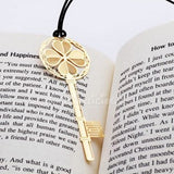 Bookmark - Korean Style Gold Bookmark / Teachers Day Gift  / Children Day Gift Ideas / Birthday Goodie Bag / Party Favors / Kids Present / Christmas