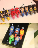 Avengers Superheros Cord Winder Cartoon Cable Tie