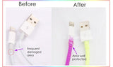 Line Cony Cable Protector with Cable Tie