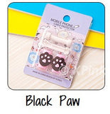 Black Paw Cartoon Cable Protector