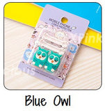 Blue Owl Cartoon Cable Protector