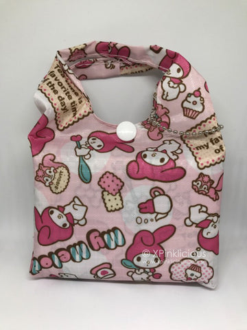 C04-Melody Biscuit Foldable Recycle Bag / Tote Bag / Teachers Day / Children Day Gift Ideas / Kids Present / Christmas