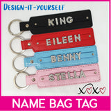 Customised DIY Personalised Bag Luggage Tag
