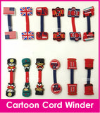 Country Cord Winder Cartoon Cable Tie