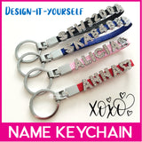 Customised DIY Personalised Keychain