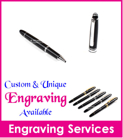 Personalised Name Engraving - MB CAP Pen / Teachers Day Gift / Christmas Present