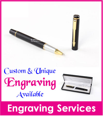 Personalised Name Engraving - Gold Arrow Pen / Teachers Day Gift / Christmas Present