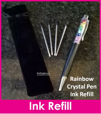 Ink Refill for Rainbow Crystal Stylus Pen