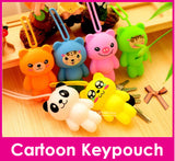 Cartoon Key Pouch Key Holder  / Teachers Day / Children Day Gift Ideas / Birthday Goodie Bag / Party Favors / Kids Present / Christmas