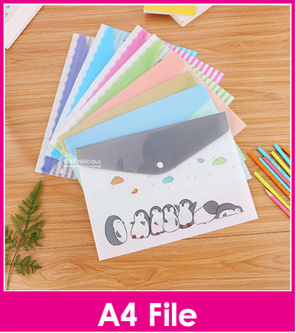 A4 File - Lovely Animal Series / Children Day Gift Ideas / Birthday Goodie Bag / Party Favors / Kids Present / Christmas
