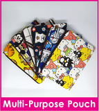 Cartoon Cosmetic Pouch/Pencil Case/Multi Functional Phone Pouch / Teachers Day / Children Day Gift Ideas / Kids Present / Christmas