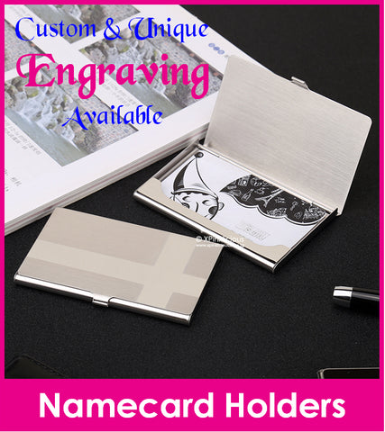 Engraving for Business Namecard Case (Design G / H)