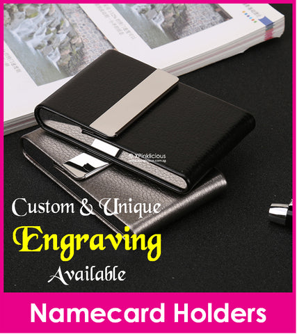 Engraving for Business Namecard Case (Design D)