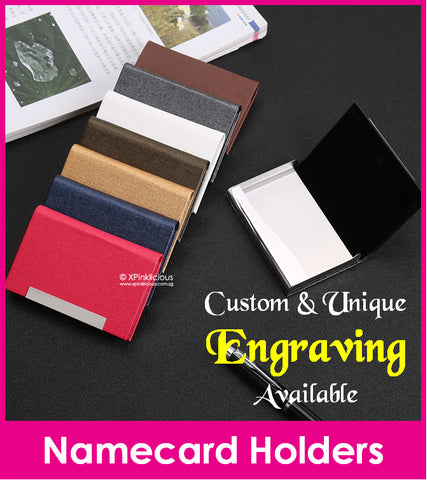 Engraving for Business Namecard Case (Design E )