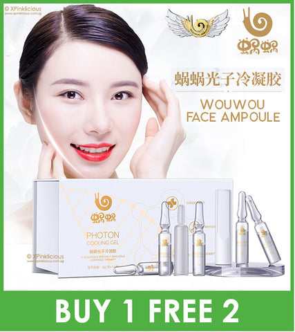 Wowo Face Ampoule / Wouwou Photon Cooling Gel / Treatment Serum Essences [Buy 1 box FREE 2 box]