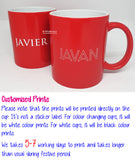Customised Name Print Cup / Name Print Couple Mug / Christmas Gift Ideas / Present