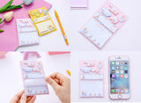 Cartoon Cloud Sticky Memo Post IT Note / Teachers Day / Children Day Gift Ideas / Birthday Goodie Bag / Party Favors / Kids Present / Christmas