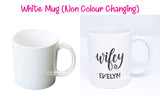 Couple Mug / Customised Name Print Cup / Valentine Day Present / Anniversary Gift Ideas