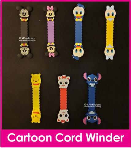 NEW Cartoon Cord Winder Cartoon Cable Tie