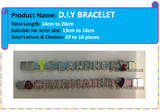 Customised DIY Personalised DIY Bracelet / Teachers Day / Children Day Gift Ideas / Birthday Goodie Bag / Party Favors / Kids Present / Christmas