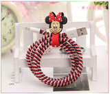 Minnie Mouse Cable Protector with Cable Tie