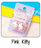 Pink Kitty Cartoon Cable Protector