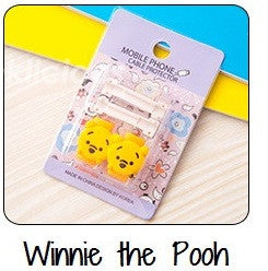 Winnie The Pooh Cartoon Cable Protector