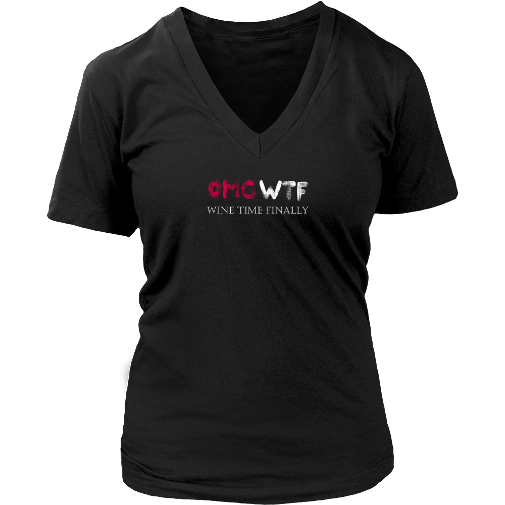 OMG - Wine Lovers Womens T-Shirt