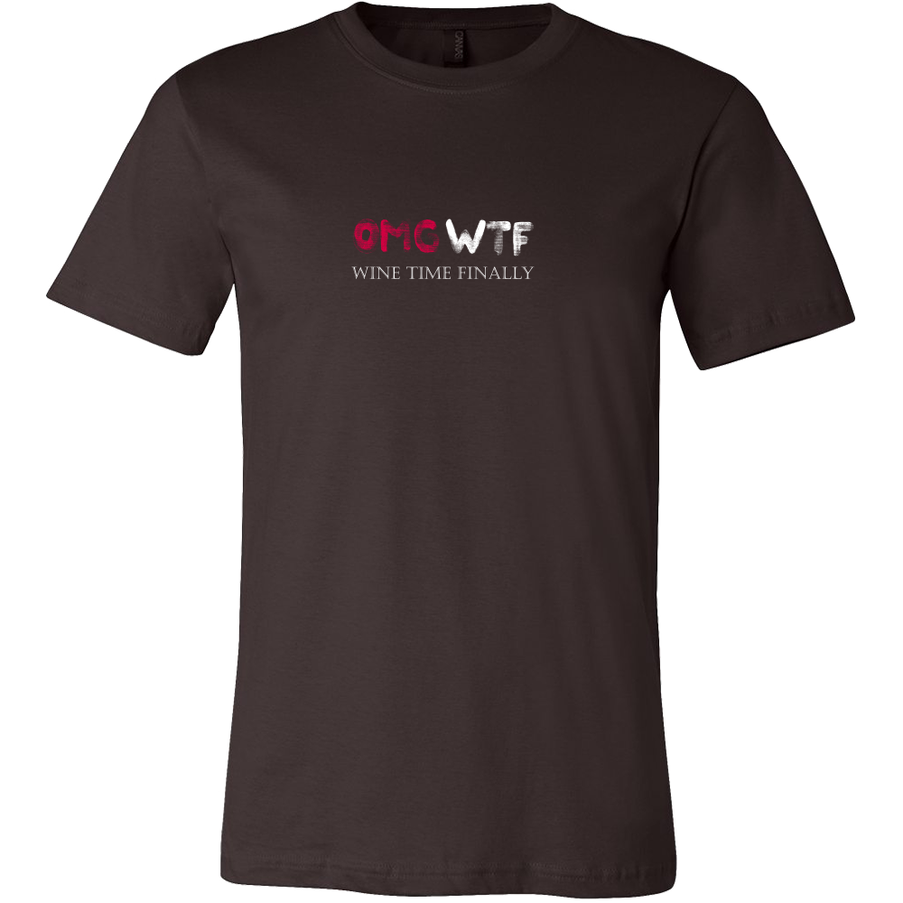 OMG - Wine Lovers Mens T-Shirt