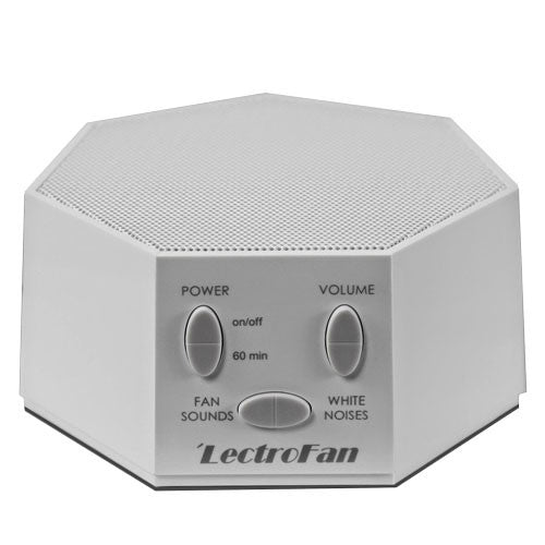LectroFan White Noise Machine in Silver