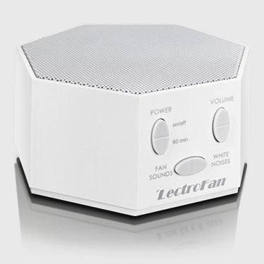 LectroFan White Noise Machine in White