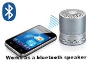 White Noise Machine Bluetooth Speaker with Phone
