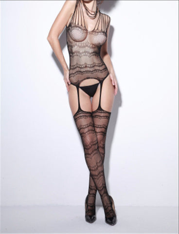 Tiny Fishnet Body Polyester Stocking