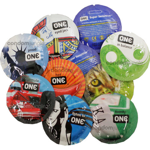 One Condoms - Classiest design ever - 1 pc