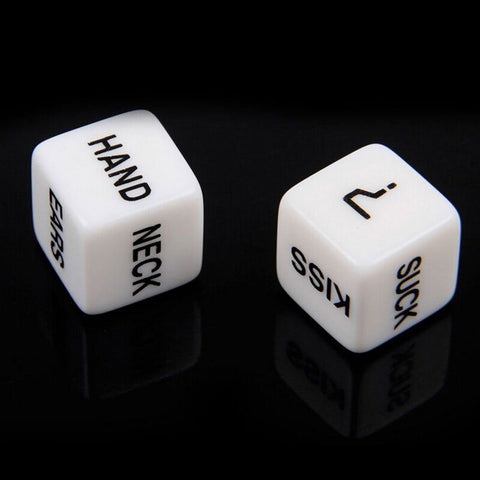 Pair of Couple's fun dice