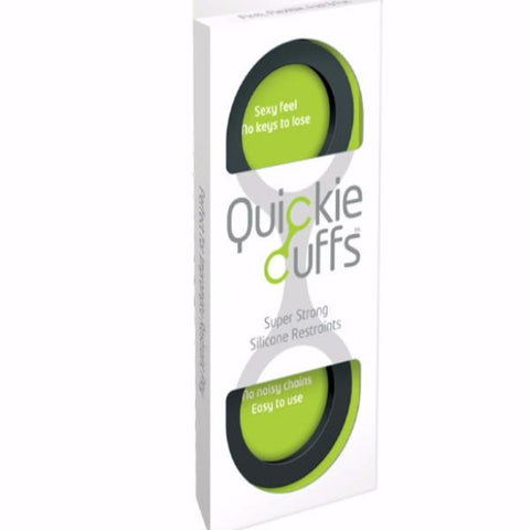 Quickie cuffs : Super strong silicone restraints, large