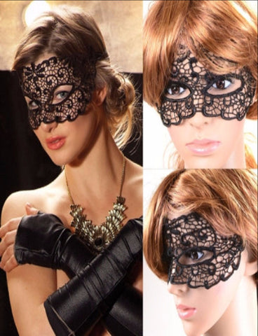 Elegant Role Play Lace Mask