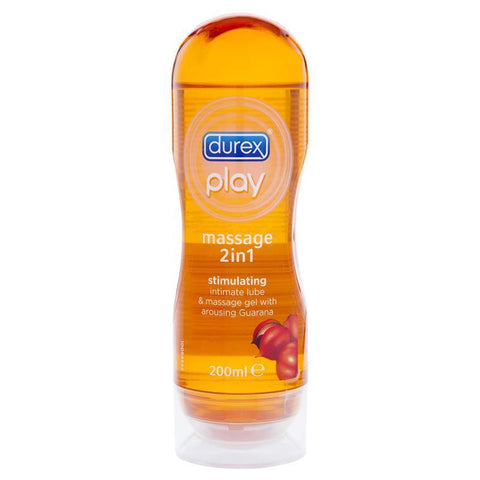 DUREX Play : Massage and Play 2-in-1 Massage Gel and Personal Lubricant, Intensify